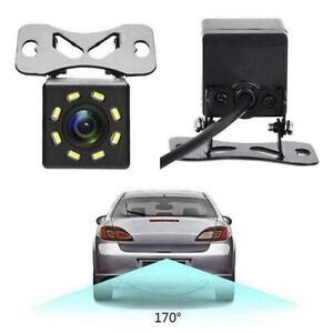 Night-Vision-Car-Rear-View-Camera-8-LED-Wide-Angle-HD-Parking-Backup-T4K5