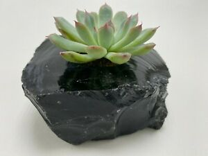 Black Cream Fossil Stone Marble Onyx T Tea Light Candle Holder Home Decor Gift