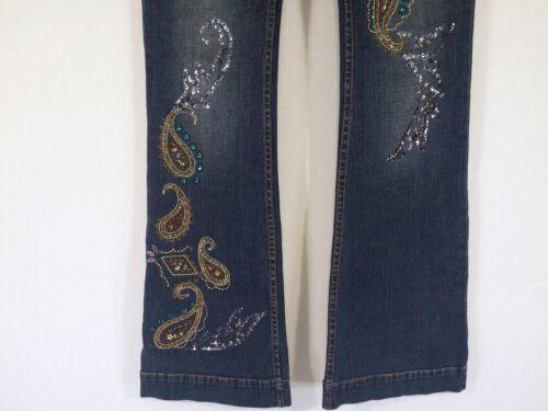 Perlé Perles B Jeans Orné Taille Schwartz 29 35 Femmes Msrp Allen 289 De AxFR8wPqPp