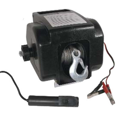 HEAVY DUTY POWERFUL 6000 LB 12V ELECTRIC WINCH UK STOCK NEW PRO 4.8mm CABLE