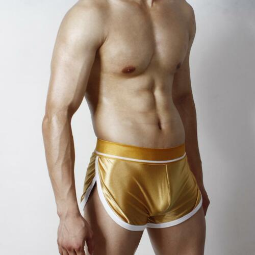 Promo Short satin brillant l/'or  taille XL superbody by neofan Réf 105