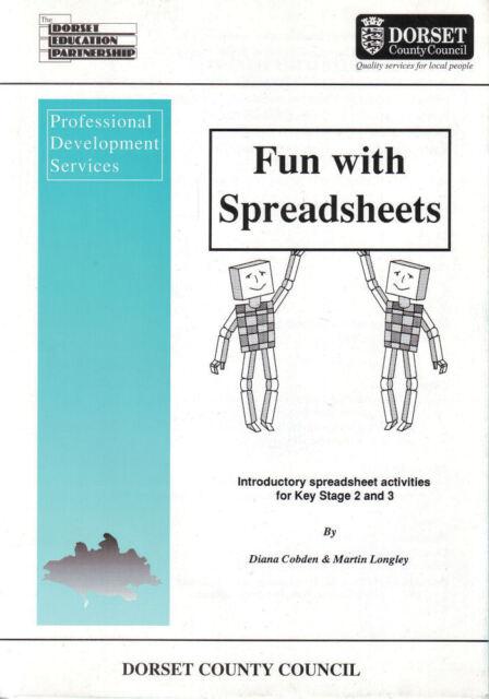 Fun With Spreadsheets Ks2 Ks3 Dorset County Council Maths ...