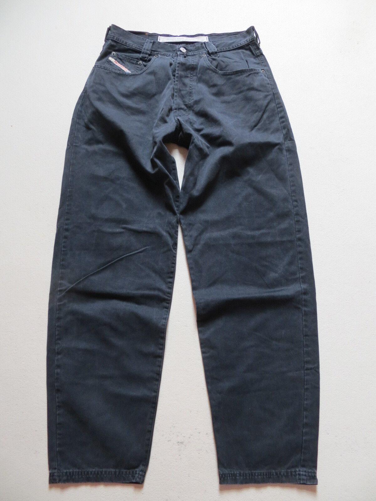 Diesel old SADDLE Jeans Hose W 32  L 34, black, weiter Oberschenkel, RARITÄT