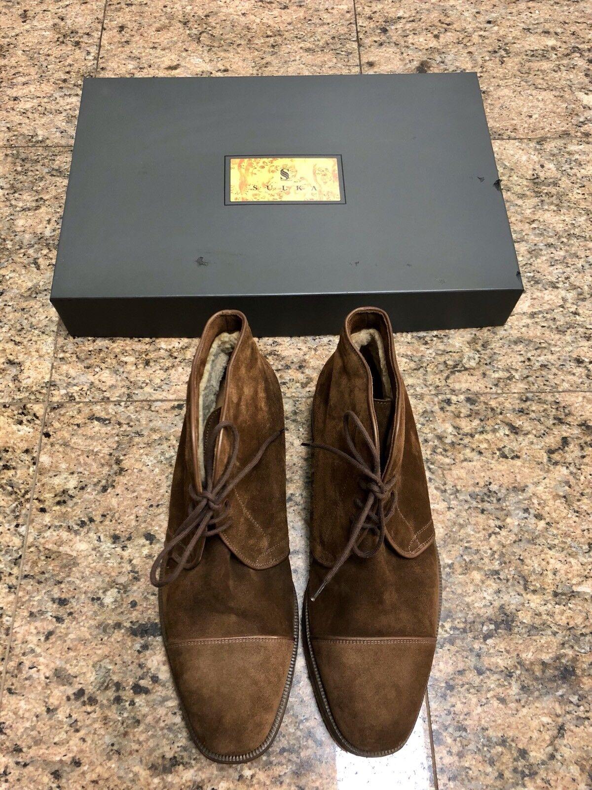 botas Forrado de piel de ante marrón Sulka
