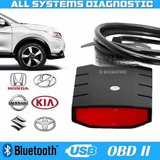 BLUETOOTH DIAGNOSTIC OBD TOOL AND SOFTWARE 2014 R2 CAR TRUCK KIA NISSAN HONDA