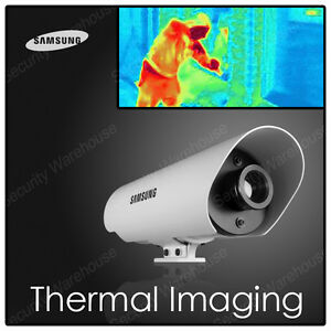 Samsung Scb 9051 Thermal Imaging Night Vision Outdoor Cctv