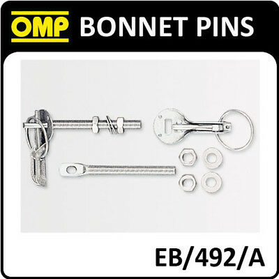 EB//492//A Hood Pin, Aluminum OMP
