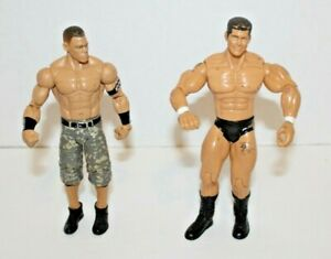 LOT-2-WWE-JOHN-CENA-2011-Mattel-amp-RANDY-ORTON-2003-WWE-Inc-ACTION-FIGURES