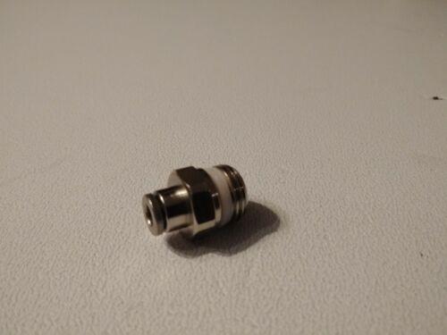 Pneumatik los conectores o enchufes con rosca 1//4 4mm Pushin Camozzi 2st