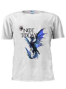 Game-OF-Thrones-Dragon-T-Shirt-Arya-Stark-Not-Today-Men-Women-Unisex-Tshirt-M213
