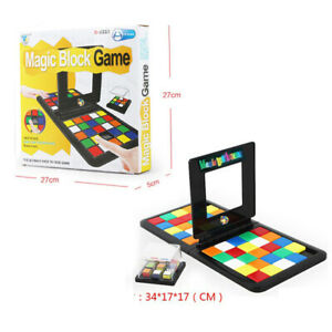 Magic-Block-Game-Rubik-039-s-Race-Puzzle-Cube-3D-Jouet-Enfants-Enseignement-IQ-mate