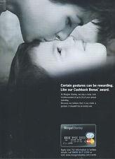 """Mogan Stanley """"Cashback Bonus"""" 2001 Magazine Advert"""