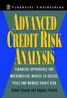Advanced Credit Risk Analysis: Financial Approaches and Mathematical Models to Assess, Price and Manage Credit Risk by Didier Cossin, Hughes Pirotte (Hardback, 2000)