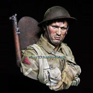 Unpainted-1-10-Scale-Soldier-Buts-Model-Figure-Garage-Kits-Unassembled-Statue
