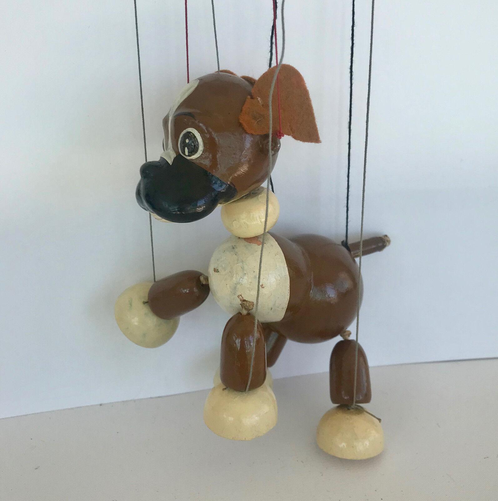 Pelham marioneta  Bengo  Boxer perro sin caja original, C1955 Vintage