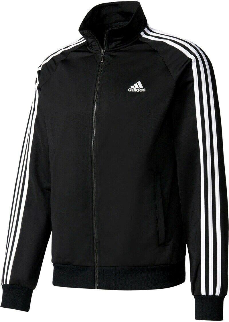 Herren Trainingsjacke Adidas Jacke schwarz Herrenjacke NEU