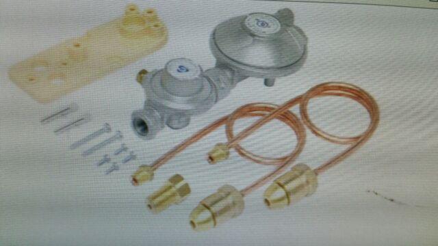 BROMIC  Dual Cylinder Installation Kit-LPG  Part No. 6060535