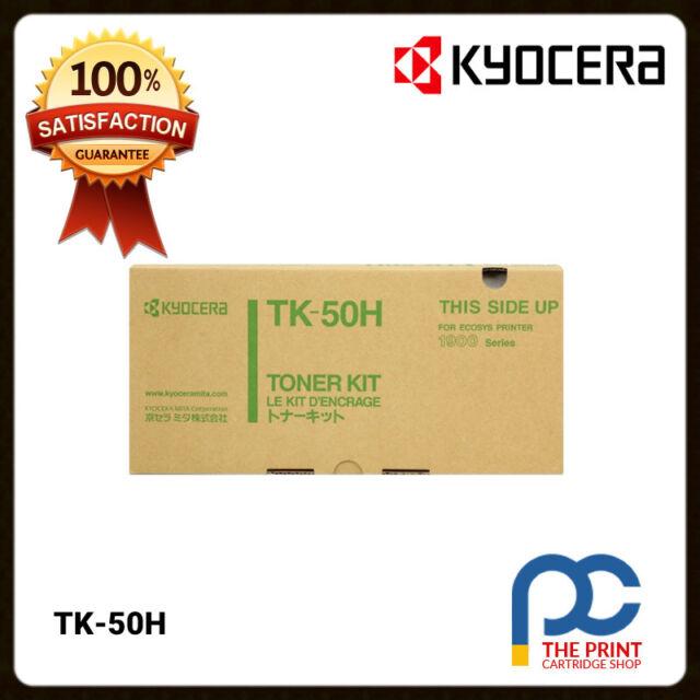 New & Original Kyocera TK-50H Black High Yield Toner Cartridge FS1900 15K Pages
