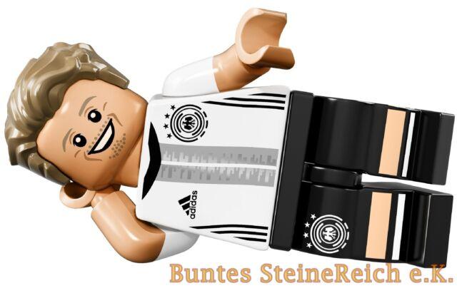 71014 Lego Minifiguras la Equipo: Delantero Max Kruse 23 ! Nuevo