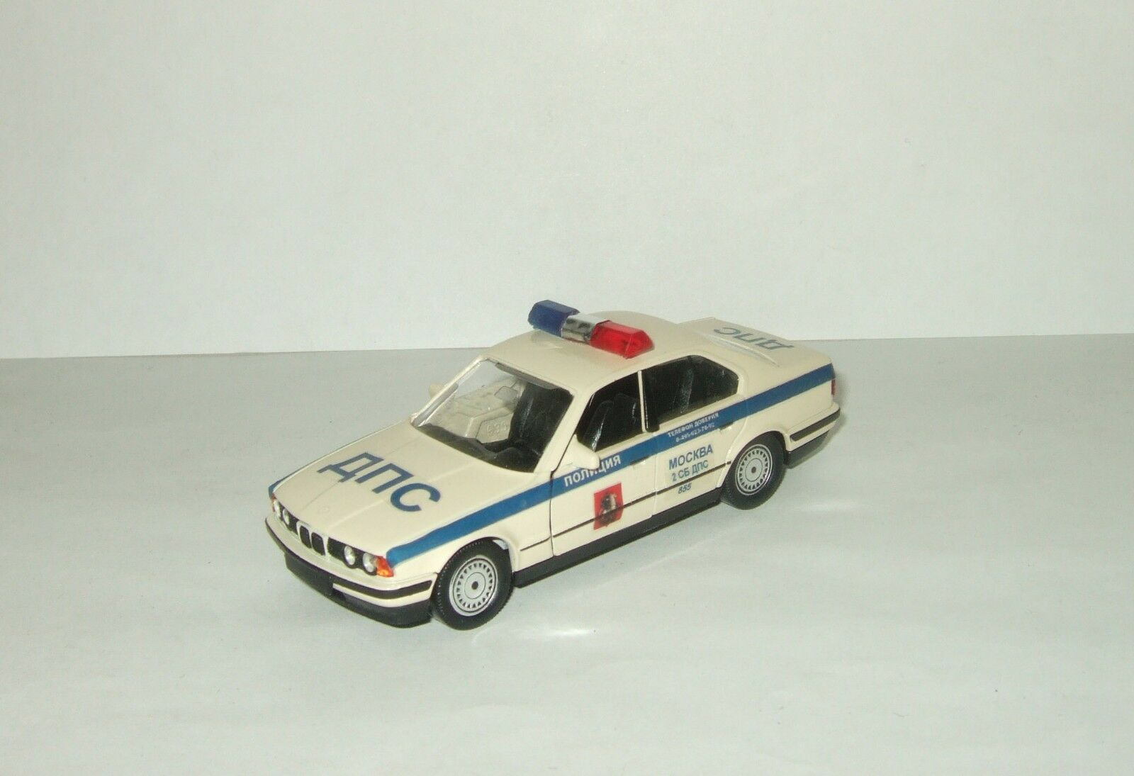 BMW 535 E34 Russian Police Moscow Schabak 1 43 Special version