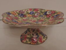 Vintage Royal Winton Chintz Sweet Pea Compote Serving Dish