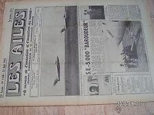 "1µ?  Revue Les Ailes ""Monde Aviation"" n°1438 SE.5000 HP.80 Victor R.Chevillote"