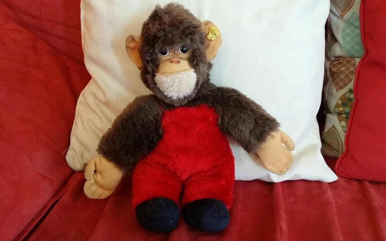 Rarissima Scimmia Steiff degli Anni 70 Unica E Bella Proviene dalla Germania