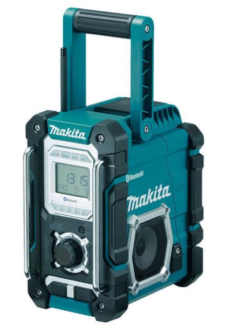 Makita Akku-Baustellenradio DMR108 Bluetooth 7,2-18 Volt Radio- Nachf.vom DMR106