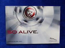 Jaguar Modellprogramm - XF / F-Type / XJ / XK - Prospekt Brochure 2013?