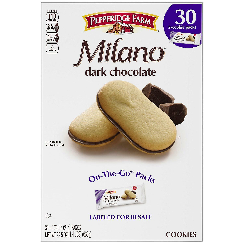 Pepperidge Farm Milano Milchschokolade 170g For Sale Online Ebay