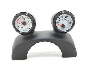 96 00 Honda Civic - Dual Gauge Pod 52mm (OEM) Steering Wheel