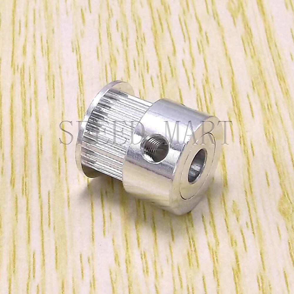 GT2 Timing Pulley 20 Teeth 5mm Bore Hole 10mm width RepRap Prusa 3D Printer