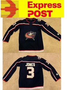 info for 14c87 226f3 Details about Ice Hockey Columbus Blue Jackets Jersey, #3 Seth Jones  jersey, AU stock