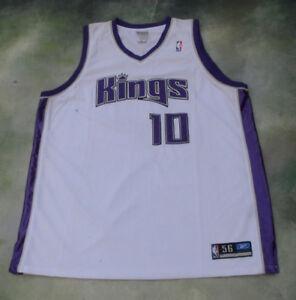 ab1cce011a47 Image is loading Reebok-NBA-Sacramento-Kings-Mike-Bibby-10-Jersey-