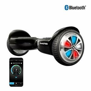 Swagtron Kids Hoverboard Bluetooth T500 w/ App LED Wheel Self-Balancing Scooter