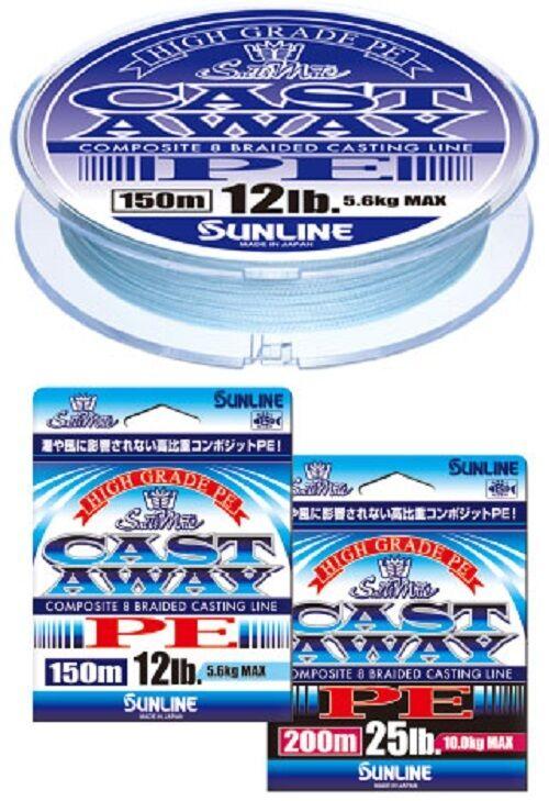 SUNLINE Salti Mate CAST AWAY PE 150m Braid Line