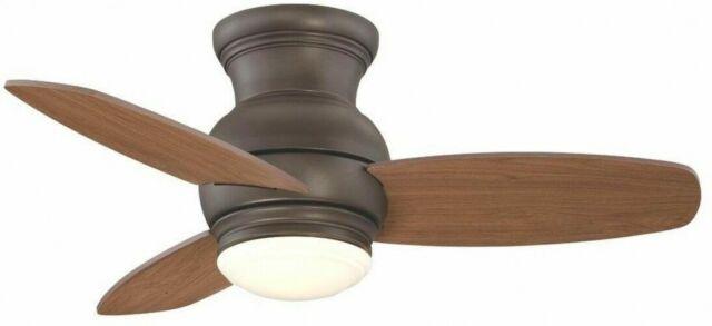 Allen Roth Laralyn 32 In Dark Oil Rubbed Bronze Indoor Ceiling Fan With Light For Sale Online Ebay