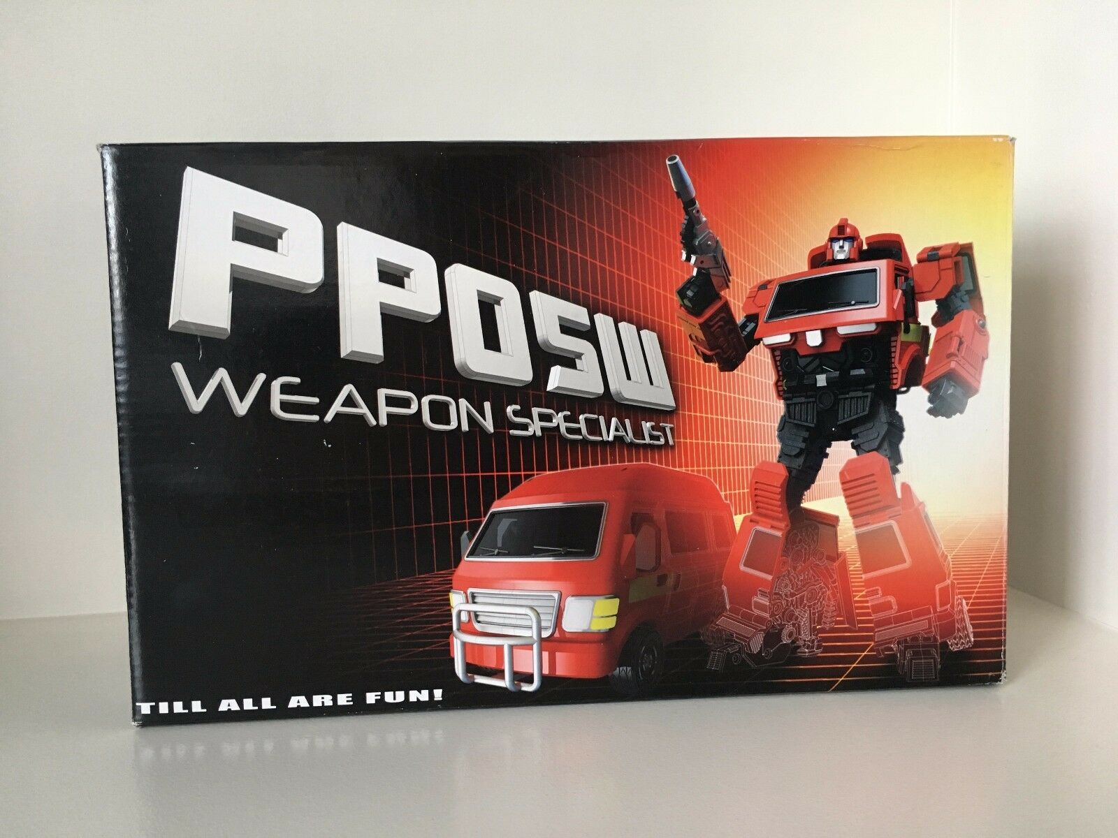 Transformers Masterpiece iGear PP05W Weapons Specialist  aka MP Ironhide MIB