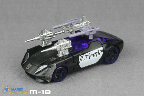 Details about  /Matrix Workshop M-18 Upgrade Kit for Siege Deluxe Barricade//Smoke Screen 3 PCS