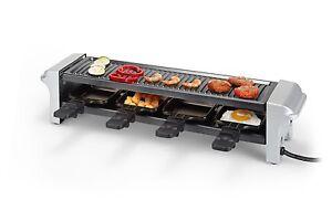 Tristar-Raclette-Placa-de-Parrilla-con-Capa-Antiadherente-Mesa-para-Fiestas