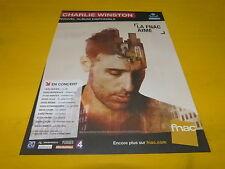 CHARLIE WINSTON - Concerts - Publicité de magazine / Advert !!