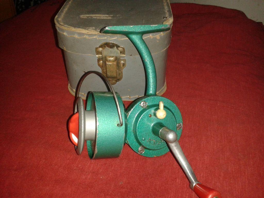 Vintage fishing reel TOKOZ REEX +box