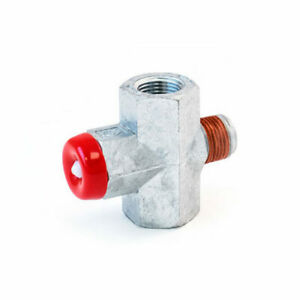 GHE-2 TRAMEC SLOAN Steel Glad Hand Fitting,Silver//Red Red