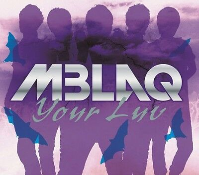 MBLAQ - Your Luv (A type) (CD+DVD 1st Press Limited Edition) [Japan Version]