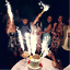 6ct-Birthday-Wedding-Bottle-7-034-Large-Party-Gold-Sparkle-Candle-Cake-Candles thumbnail 2