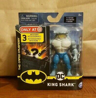 BATMAN TARGET EXC SPIN MASTER THE CAPED CRUSADER YOU CHOICE KING SHARK