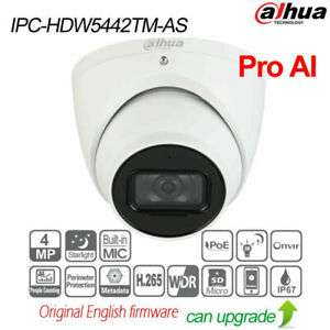 Dahua IPC-HDW5442TM-AS 4MP WDR IR50 Eyeball AI Network Camera IP67 MIC WDR H.265