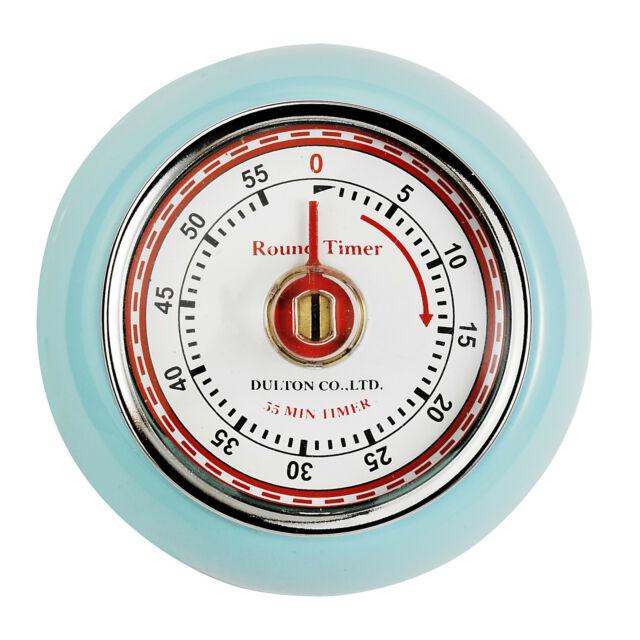 Eddingtons Magnetico Stile Retrò Cucina Timer - Blu 55 Minuti Conto Alla