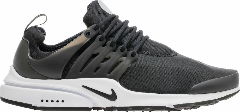 Nike Mens Air Presto Essential Black Black White Running shoes