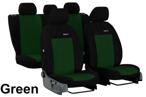 "VELOUR /""ELEGANCE/"" TAILORED SEAT COVERS MADE FOR SEAT IBIZA FR Mk5 2017 ONWARDS"